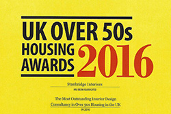 Stanbridge Recognised Again in UK Over 50s Housing Awards